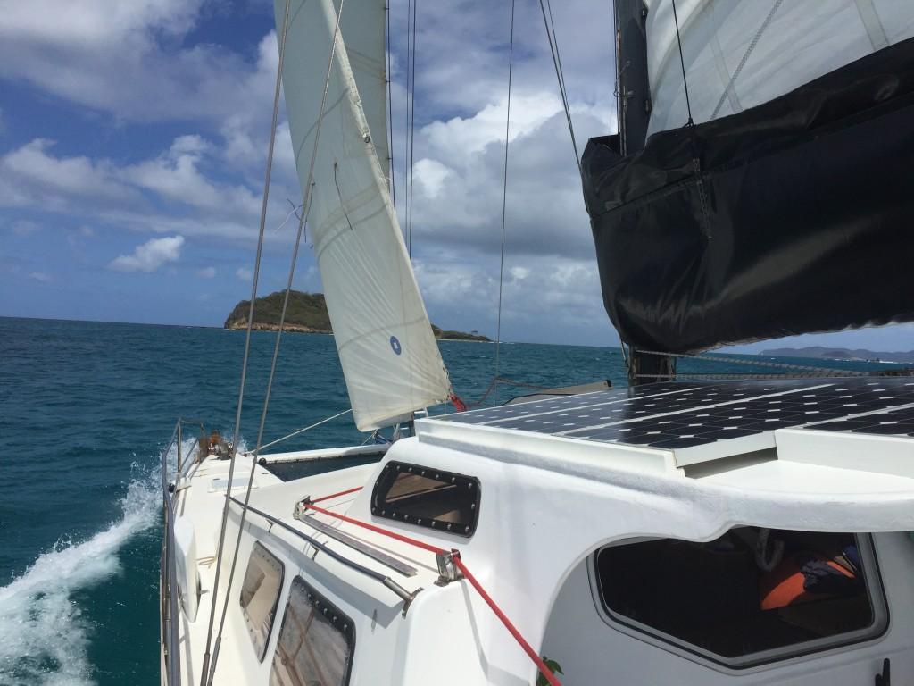 Von Union Island zu den Cays
