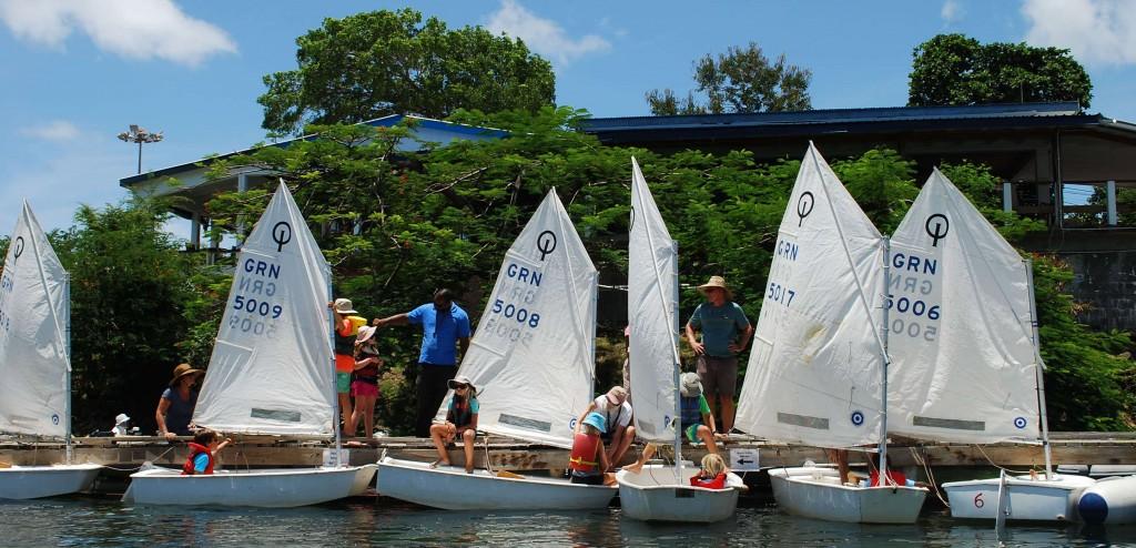 Steg vor dem Yachtclub von Grenada