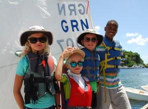 Gewinnerteam beim fun-race Staffel-Segeln