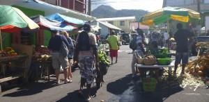 Markt mit Musik